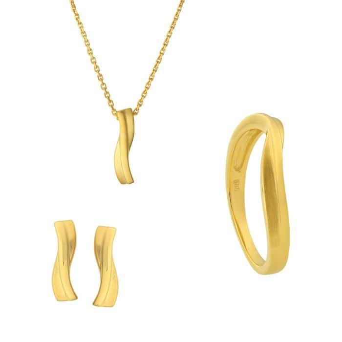 ID-125 Gouden Sieraden Set