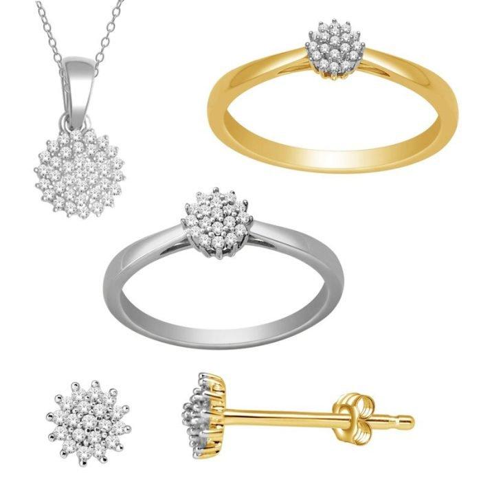 ID-68-set gouden set met diamant